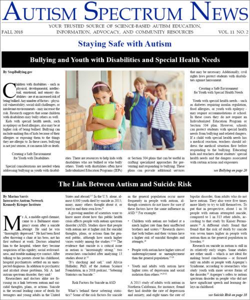 ASN Fall 2018 Issue